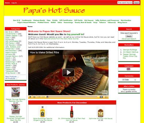 Papa's Hot Sauce